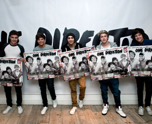 One Direction Reach 12 Million Sales And Presented With Special Disc