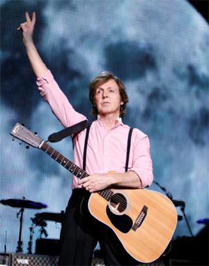 Paul Mccartney Announces 'On The Run' Tour November 2012