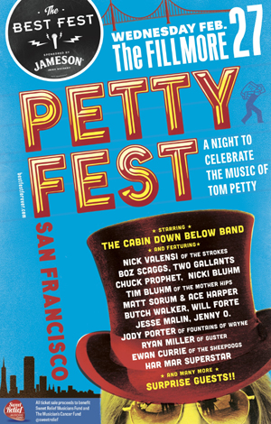 Petty Fest San Francisco Comes To The City For The First Time On February 27th 2013