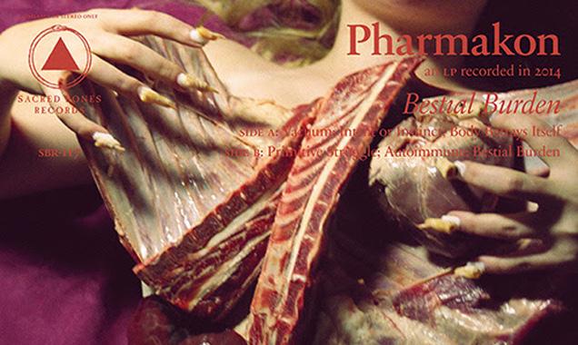 Pharmakon Announces New Album 'Bestial Burden' Due For Release 13th October 2014