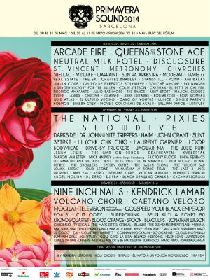 Primavera Sound 2014 Announce Full Line Up Including Nine Inch Nails, Queens Of The Stone Age And More