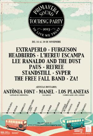 Primavera Sound Touring Party Starts November 2013