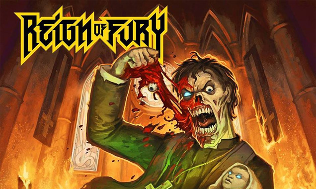 Reign Of Fury To Release Highly Anticipated Second Album 'Death Be Thy Shepherd' In Early 2015