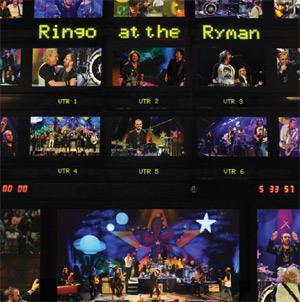 Ringo Starr Announces New Dvd 'Ringo At The Ryman' Released March 18th 2013