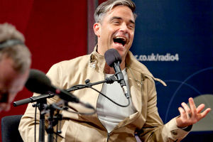 Robbie Williams Talks To John Wilson In A New Series Of Radio 4's 'Mastertapes'