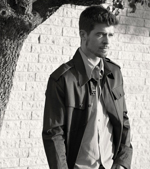 Robin Thicke Announces Album Collection 5cd Set Released October 14th 2013