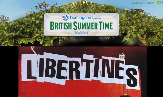 The Libertines Announce Headline Show Hyde Park On 5th July 2014