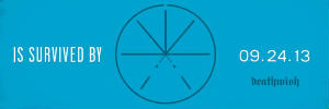 Touche Amore New Album 'Is Survived By' Coming September 24th 2013