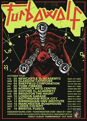Turbowolf Announces Uk Headline Tour October 2012