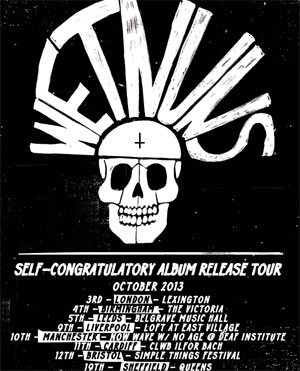 Wet Nuns Announce Self-Titled Debut Album Released October 7th 2013
