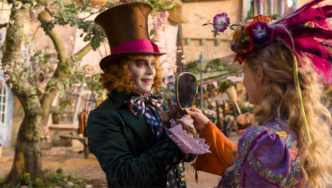 Alice Through the Looking Glass Movie Review