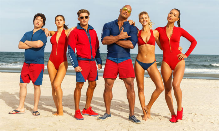 The lead Baywatch cast
