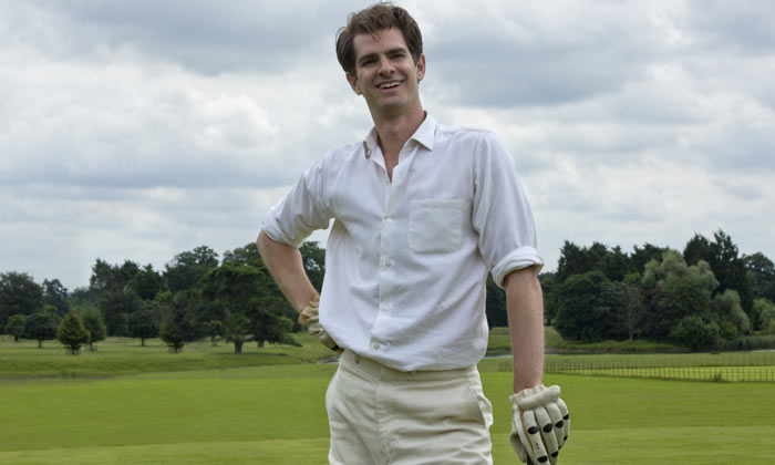 Andrew Garfield stars in 'Breathe'