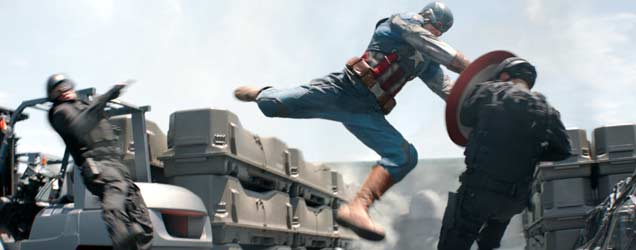 Captain America: The Winter Soldier Movie Still
