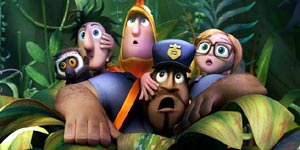 Cloudy With a Chance of Meatballs 2 Movie Review