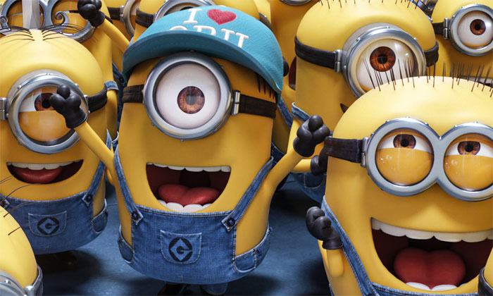 We can't forget the Minions!