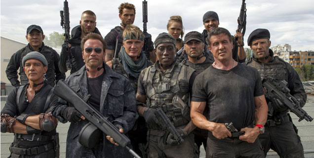 The Expendables 3 Movie Still
