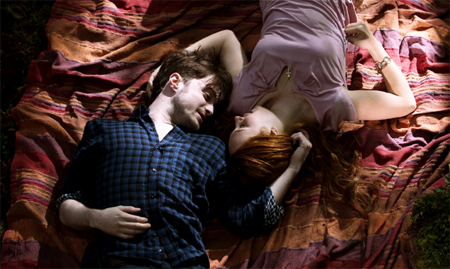Daniel Radcliffe and Juno Temple in Horns