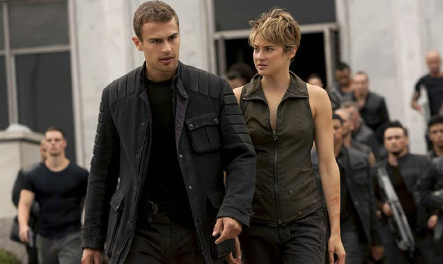 Shailene Woodley, Theo James, Insurgent Still