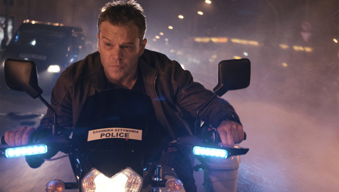 Jason Bourne Movie Still