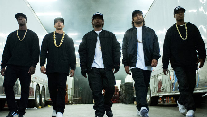 Straight Outta Compton Movie Still
