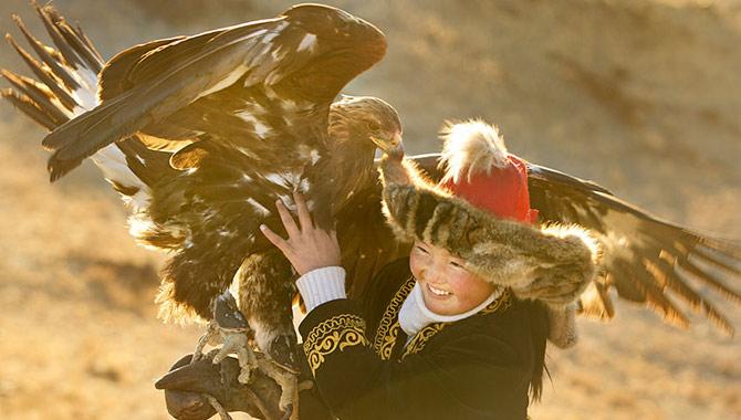 The Eagle Huntress Movie Still