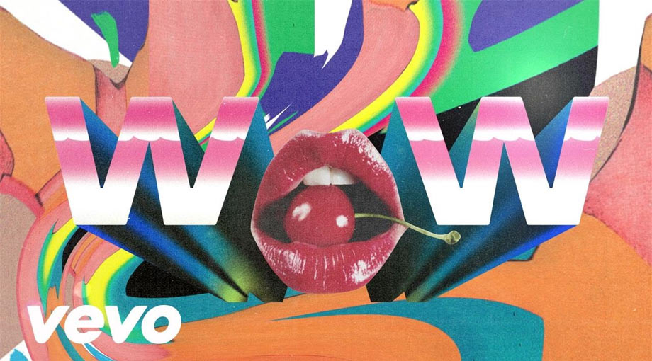 Beck - Wow Lyric Video Video