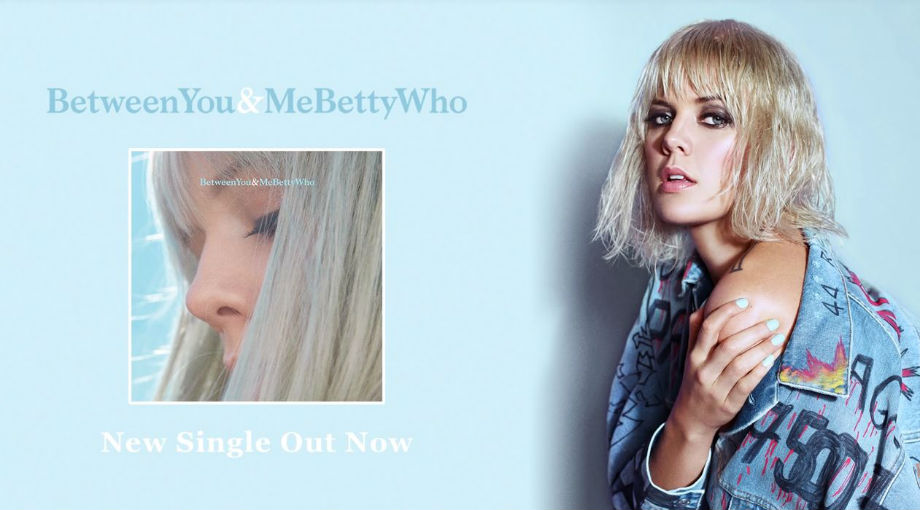 Betty Who - Between You and Me Audio Video