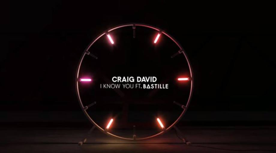 Craig David - I Know You ft. Bastille Audio Video