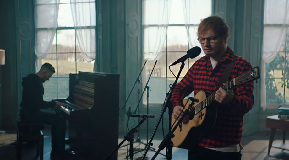 Ed Sheeran How Would You Feel (Paean) [Live] Video Video