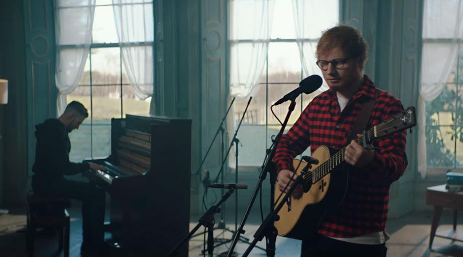 Ed Sheeran How Would You Feel (Paean) [Live] Video Video