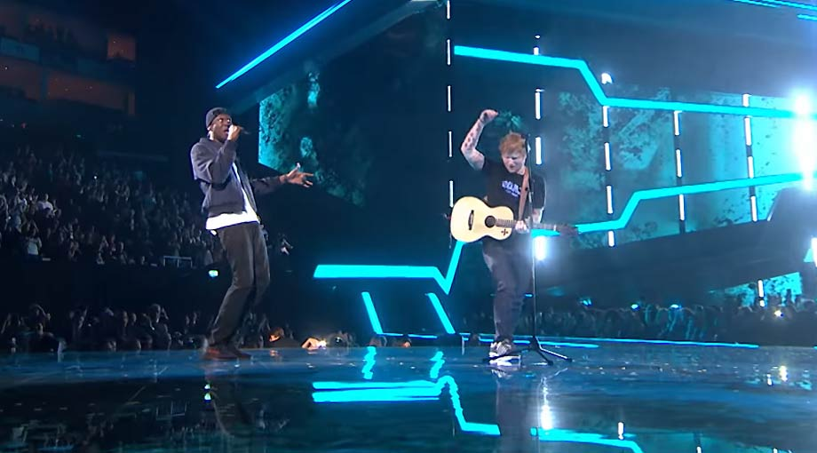 Ed Sheeran - Castle On The Hill & Shape Of You feat. Stormzy [Live from the Brit Awards 2017] Video Video