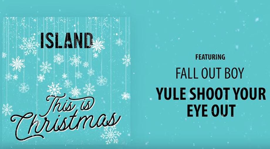 Fall Out Boy - Yule Shoot Your Eye Out Audio Video