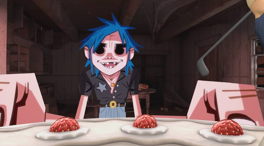 Gorillaz - Saturnz Barz Video Video