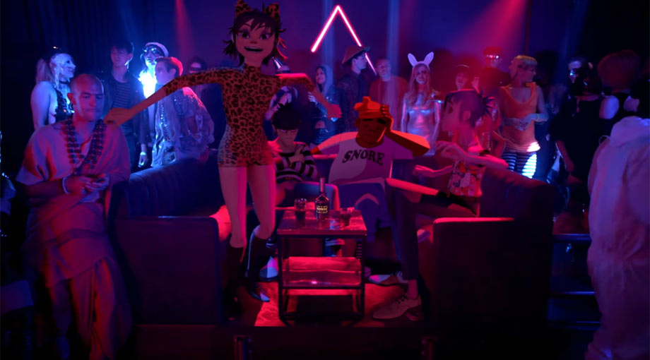 Gorillaz - Strobelite Video Video