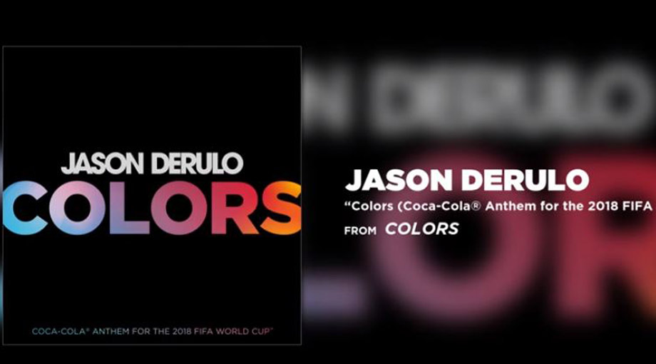 Jason Derulo - Colors (Coca-Cola Anthem for the 2018 FIFA World Cup) Audio Video