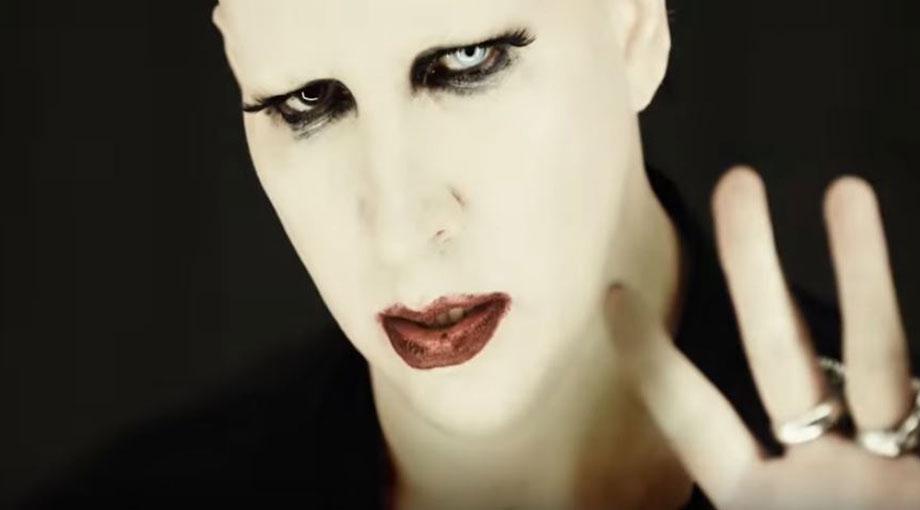 Marilyn Manson - Tattooed In Reverse Video Video