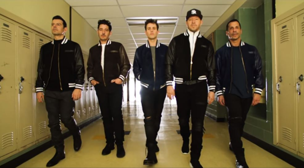 New Kids On The Block - Boys In The Band (Boy Band Anthem) Video Video