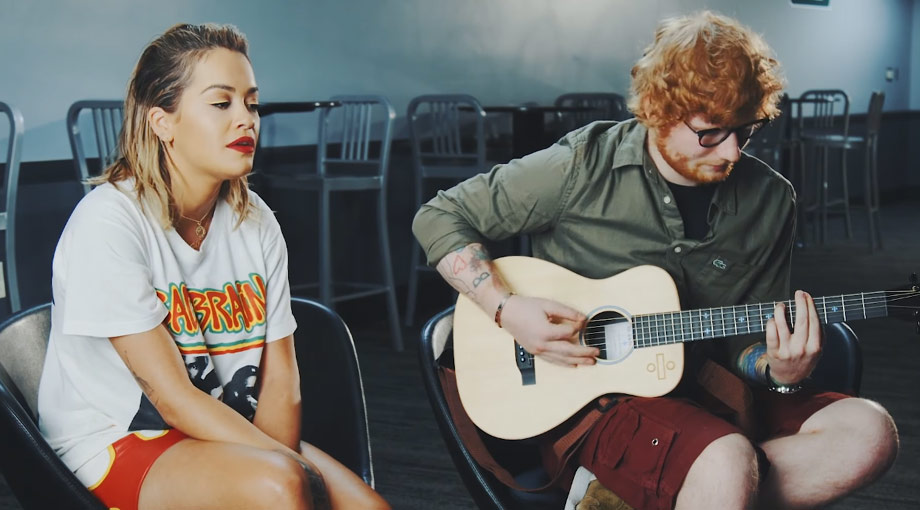Rita Ora Your Song ft. Ed Sheeran [Acoustic] Video Video