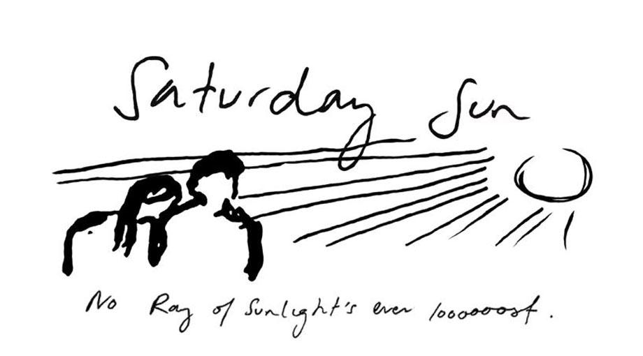 Vance Joy - Saturday Sun Lyric