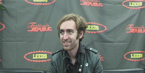A Place To Bury Strangers - Video Interview at Leeds Festival 2009