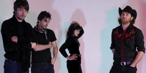 Howling Bells - Setting Sun Music Video