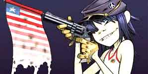 Gorillaz, Dirty Harry, Video Stream