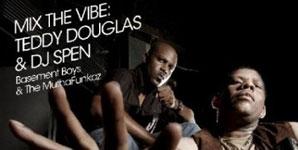 DJ Spen 'Mix the Vibe  Basement Boys & The Muthafunkaz Album