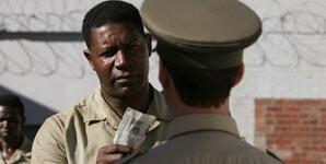 Goodbye Bafana, Prison Visit Clip