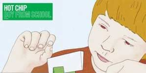 Hot Chip Boy From School Single