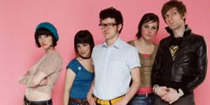 The Long Blondes Giddy Stratospheres Single