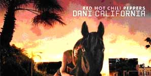 Red Hot Chili Peppers Dani California Single