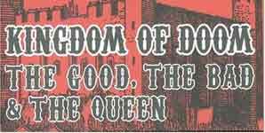 The Good The Bad & The Queen The Bad & The Queen Single