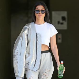 Kourtney Kardashian has found a healthy work-life balance